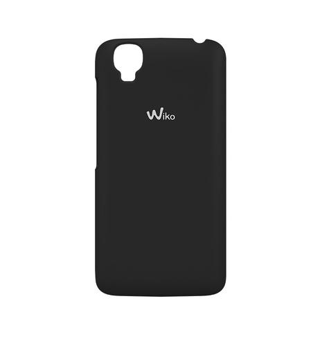 Wiko 92510 Handy-Schutzhülle (Schwarz)