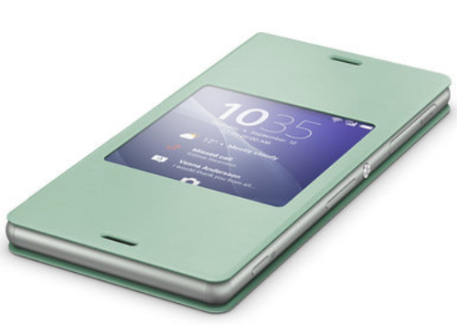 Sony 1287-5636 Handy-Schutzhülle (Grün, Silber)