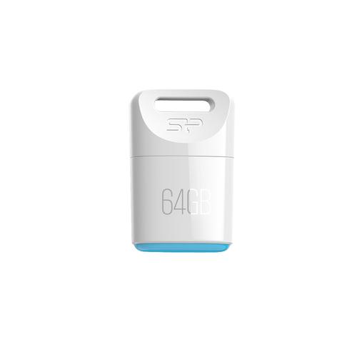 Silicon Power Touch T06 64GB USB 2.0 Weiß USB-Stick (Weiß)