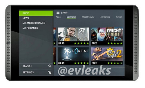 Nvidia Shield Tablet (Schwarz)