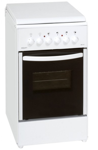 Exquisit EH10.3F Küchenherd & Kocher (Weiß)