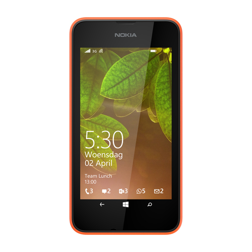 Nokia Lumia 530 Dual Sim 4GB Orange (Orange)