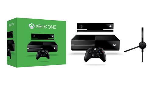 Microsoft Xbox One + Kinect (Schwarz)