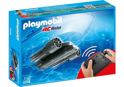 Playmobil 5536 - RC-Unterwassermotor (Schwarz)