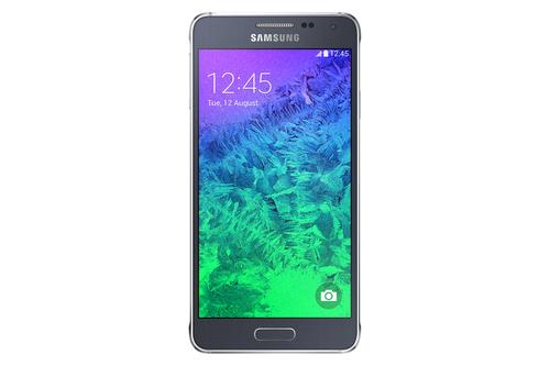 Samsung Galaxy Alpha SM-G850F 32GB 4G Schwarz (Schwarz)