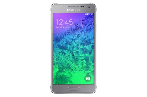 Samsung Galaxy Alpha SM-G850F 32GB 4G Silber (Silber)