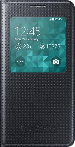 Samsung S-View Cover (Schwarz)