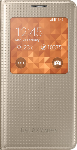 Samsung S-View Cover (Gold)