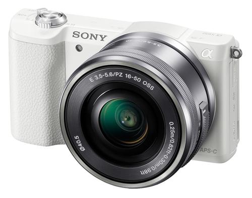 Sony α ILCE-5100L (Weiß)