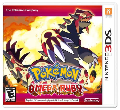 Nintendo Pokémon Omega Ruby, 3DS