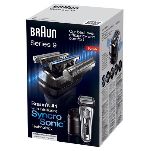 Braun 9090cc (Silber)