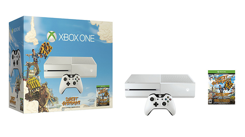 Microsoft Xbox One 500GB Sunset Overdrive (Weiß)