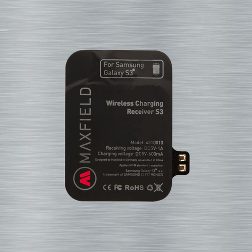 Maxfield Wireless Charging Receiver S3 (Schwarz)