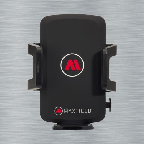 Maxfield Wireless Charging Car Charger (Schwarz)