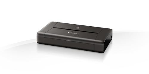 Canon PIXMA iP110 + battery (Schwarz)