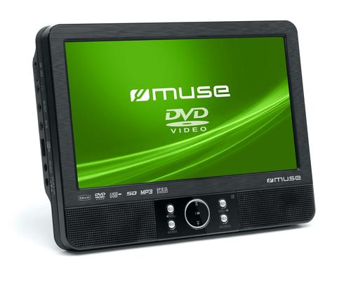 Muse M-990 CVB portabler DVD/Blu-Ray-Player (Schwarz)