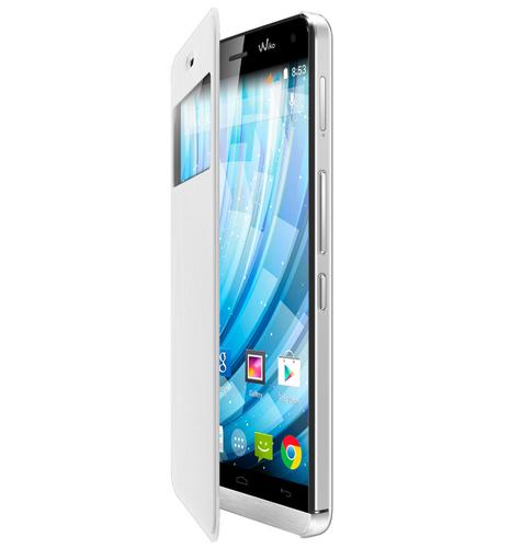 Wiko 93521 Handy-Schutzhülle (Weiß)