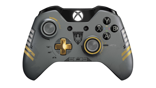 Microsoft J72-00013 Spielkontroller (Schwarz, Grau)