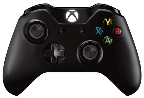 Microsoft Xbox One Wireless Controller (Schwarz)