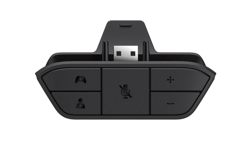 Microsoft Xbox One Stereo Headset Adapter (Schwarz)
