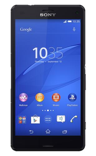 Sony Xperia Z3 Compact 16GB 4G Schwarz (Schwarz)