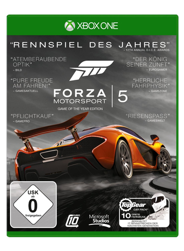 Microsoft Forza Motorsport 5 - Game of the Year Edition