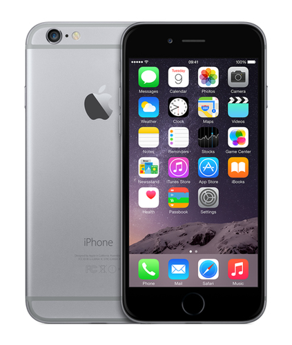Apple iPhone 6 128GB (Grau)