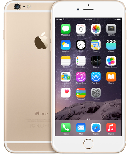 Apple iPhone 6 Plus 64GB (Gold)