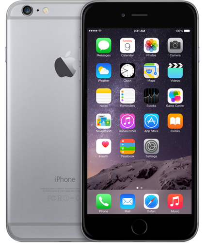 Apple iPhone 6 Plus 128GB (Grau)