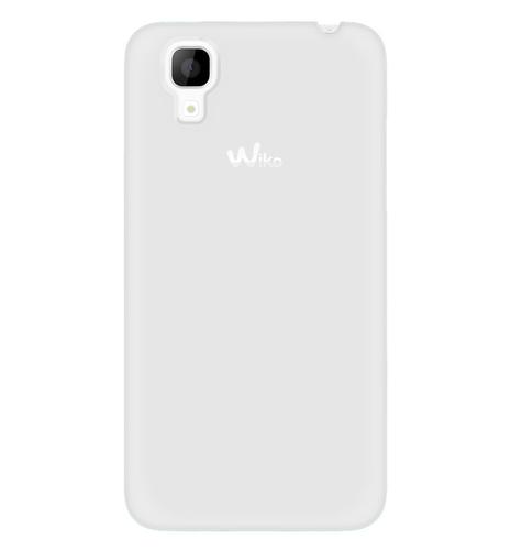 Wiko 104199 Handy-Schutzhülle (Weiß)