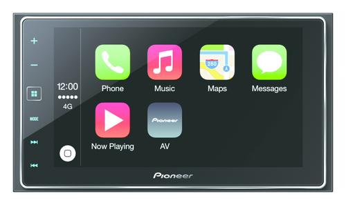 Pioneer SPH-DA120 Auto-CD/DVD Tuner (Schwarz)