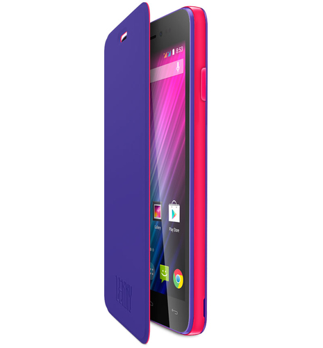 Wiko 93671 Handy-Schutzhülle (Violett)