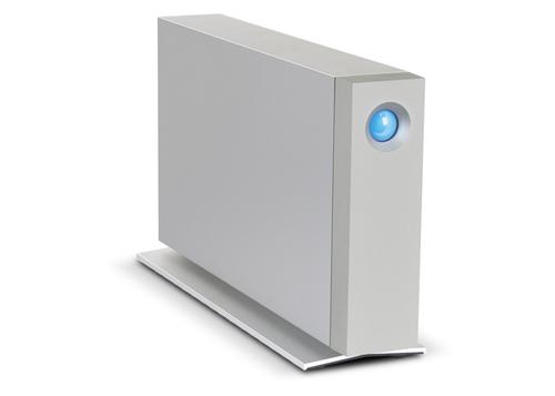 LaCie d2 Thunderbolt 2 3TB (Blau, Silber)