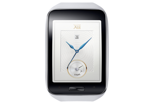 Samsung Gear S (Weiß, Weiß)