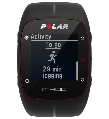 Polar M400 Bluetooth Schwarz Sportuhr (Schwarz)
