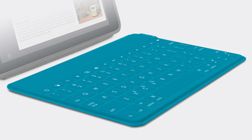 Logitech Keys-To-Go (Cyan)
