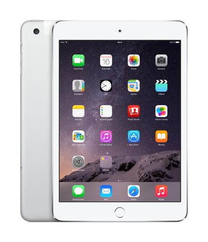 Apple iPad mini 3 64GB 4G Silber (Silber)