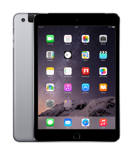 Apple iPad mini 3 128GB 4G Grau (Grau)