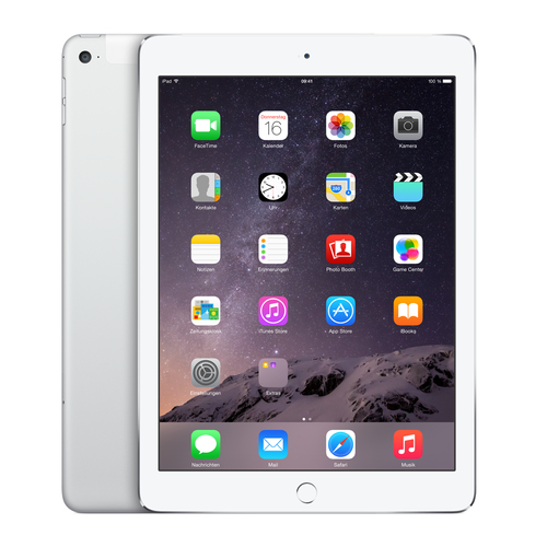 Apple iPad Air 2 128GB 4G Silber (Silber)