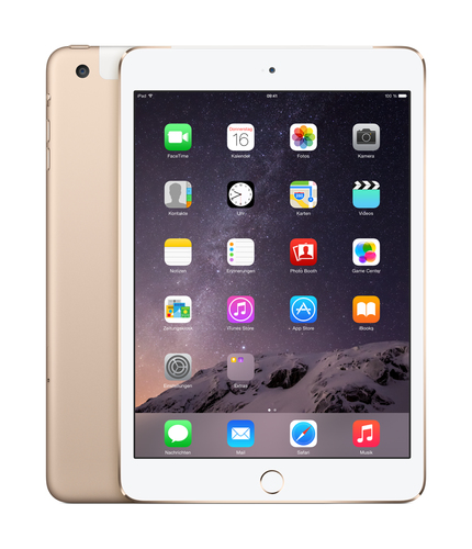 Apple iPad mini 3 128GB 4G Gold (Gold)