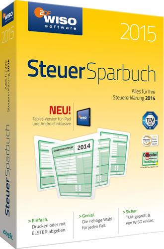 Buhl Data Service WISO Steuer-Sparbuch 2015