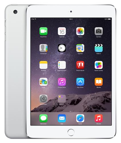 Apple iPad mini 3 128GB 3G 4G Silber (Silber)