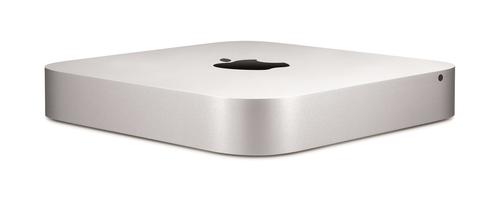 Apple Mac mini 2.8GHz i5-4308U Nettop Silber Mini-PC (Silber)