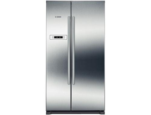 Amerikanischer Kühlschrank Saturn : Bosch kan90vi30 side by side kühlschrank edelstahl in duisburg