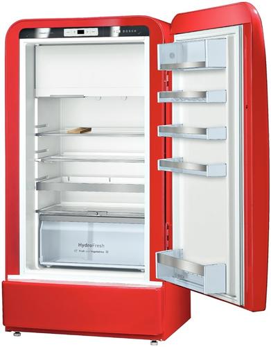 Bosch KSL20AR30 Kombi-Kühlschrank (Rot)