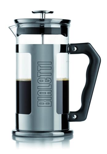 Bialetti 0003190 1l Edelstahl Kaffeepresse (Edelstahl, Transparent)