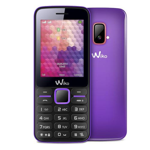 """Wiko RIFF 2.4"""" 80g Violett (Violett)"""