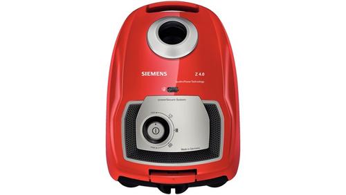 Siemens VSZ4G300 Staubsauger (Schwarz, Rot)
