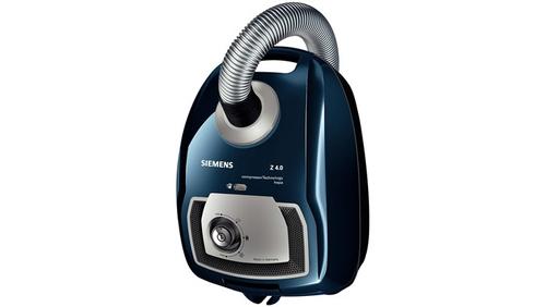 Siemens VSZ4G330 Staubsauger (Blau, Silber)