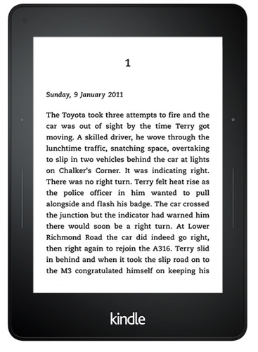 Amazon Kindle Voyage (Schwarz)